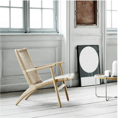 fauteuil-vintage-salon-deco-boheme-hans-wegner