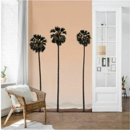 papier-peint-panoramique-mur-salon-palmier