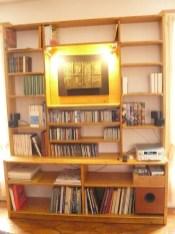 Biblitothèque en 3 plis Epicéa