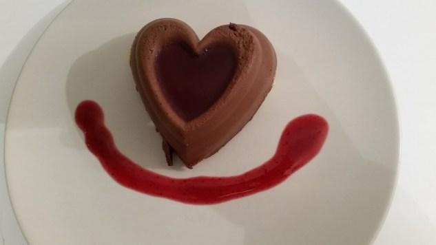 Coeur de Mousse au Chocolat