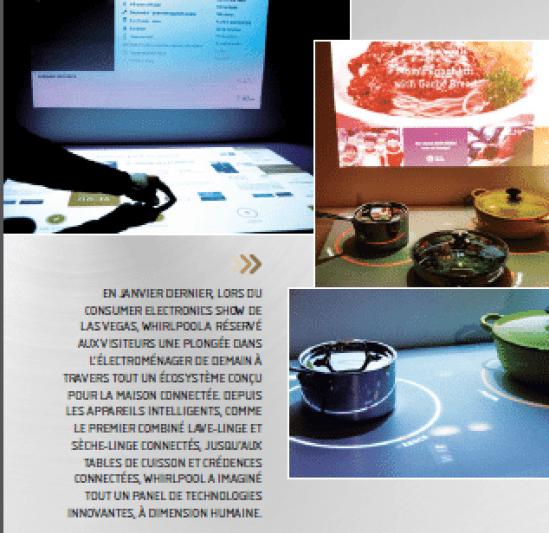 whirlpool pr sente la cuisine connect e interactive. Black Bedroom Furniture Sets. Home Design Ideas
