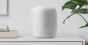 HomePod haut-parleur intelligent Apple