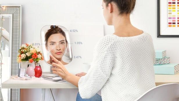 Himirror Un Miroir Intelligent Qui Decortique Votre Visage