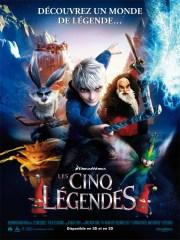 Affiche du film LES CINQ LÉGENDES