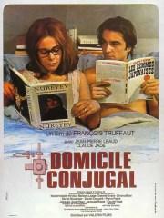 Affiche du film DOMICILE CONJUGUAL