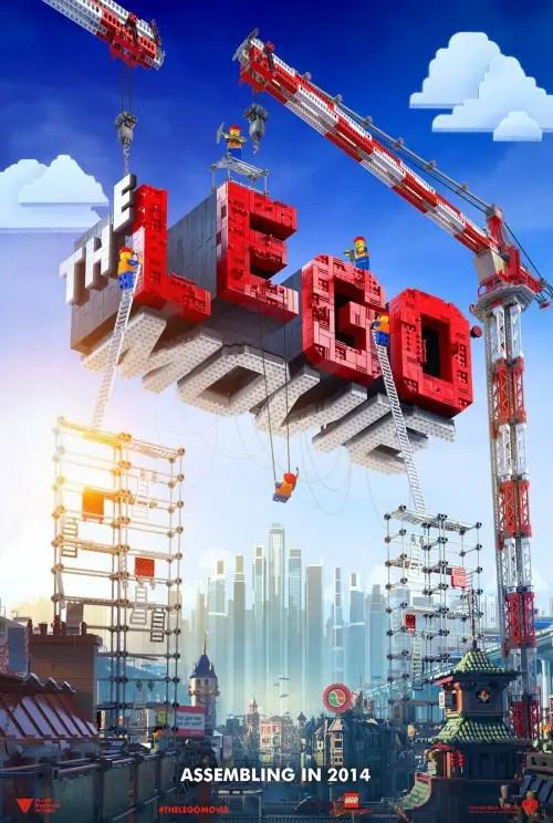 Affiche US du film LA GRANDE AVENTURE LEGO