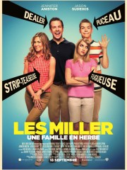 Affiche du film LES MILLER - UNE FAMILLE EN HERBE