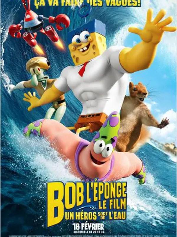Bob l'éponge – Le film : Un héros sort de l'eau