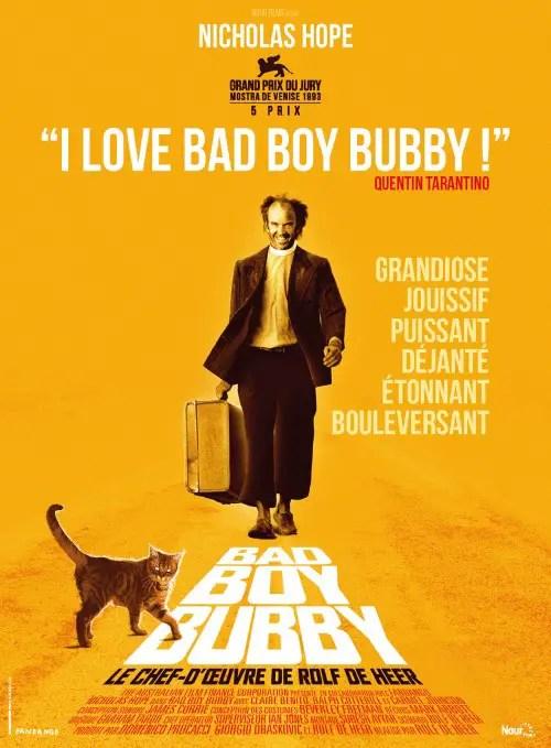 Affiche du film BAD BOY BUBBY