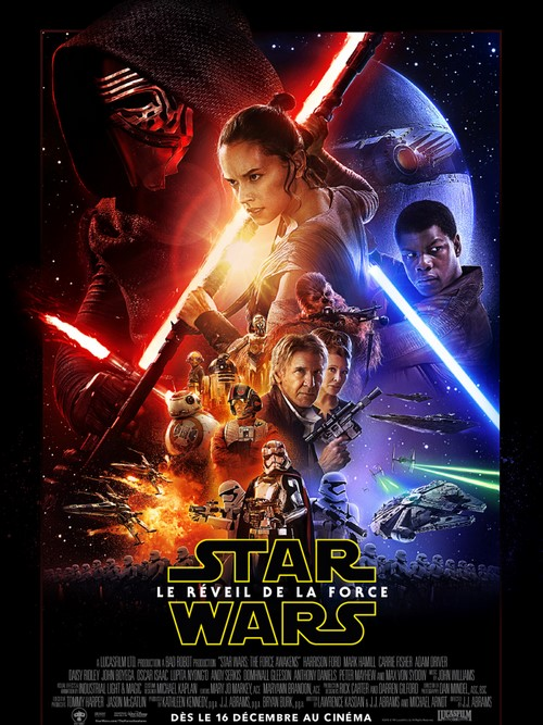 Affiche du film STAR WARS VII : LE RÉVEIL DE LA FORCE