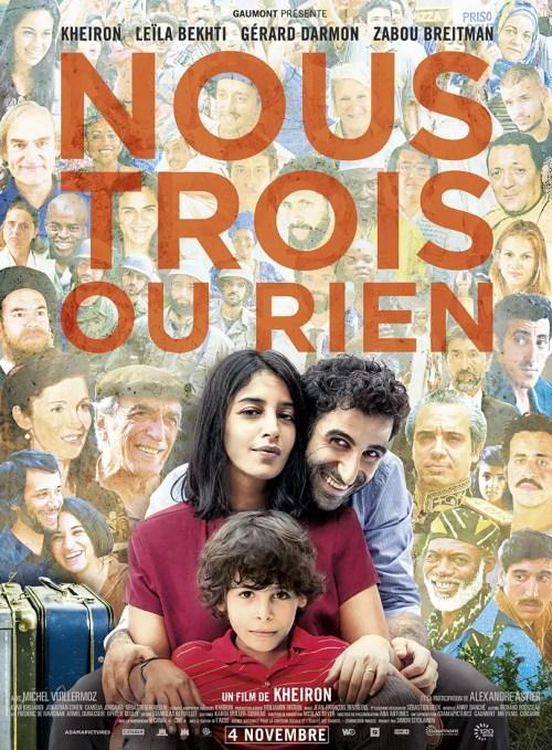 Affiche du film NOUS TROIS OU RIEN
