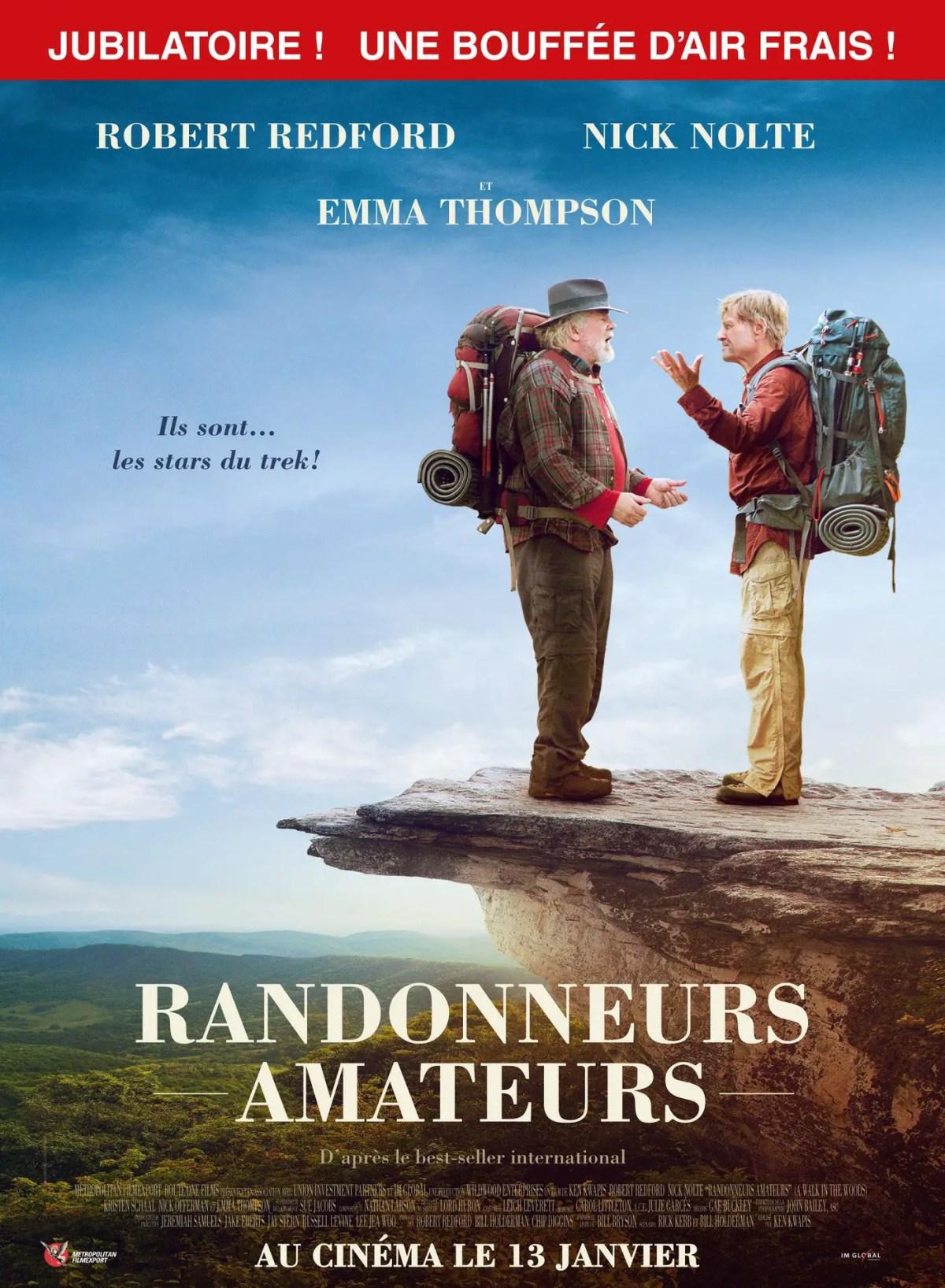 Affiche du film RANDONNEURS AMATEURS
