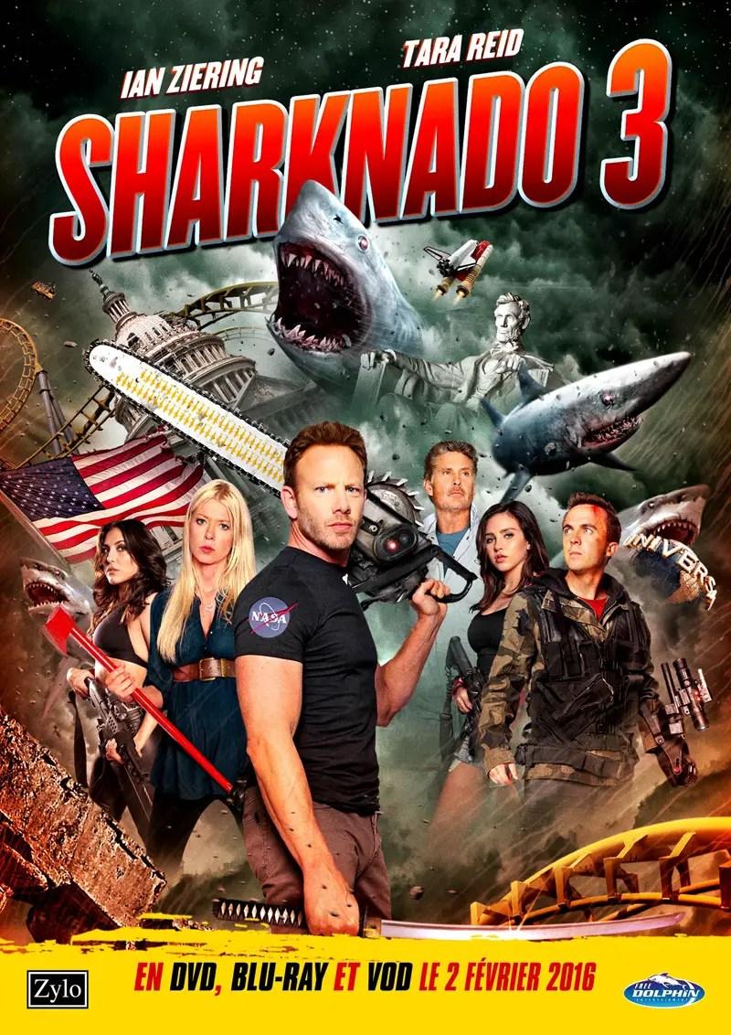 Affiche du film SHARKNADO 3