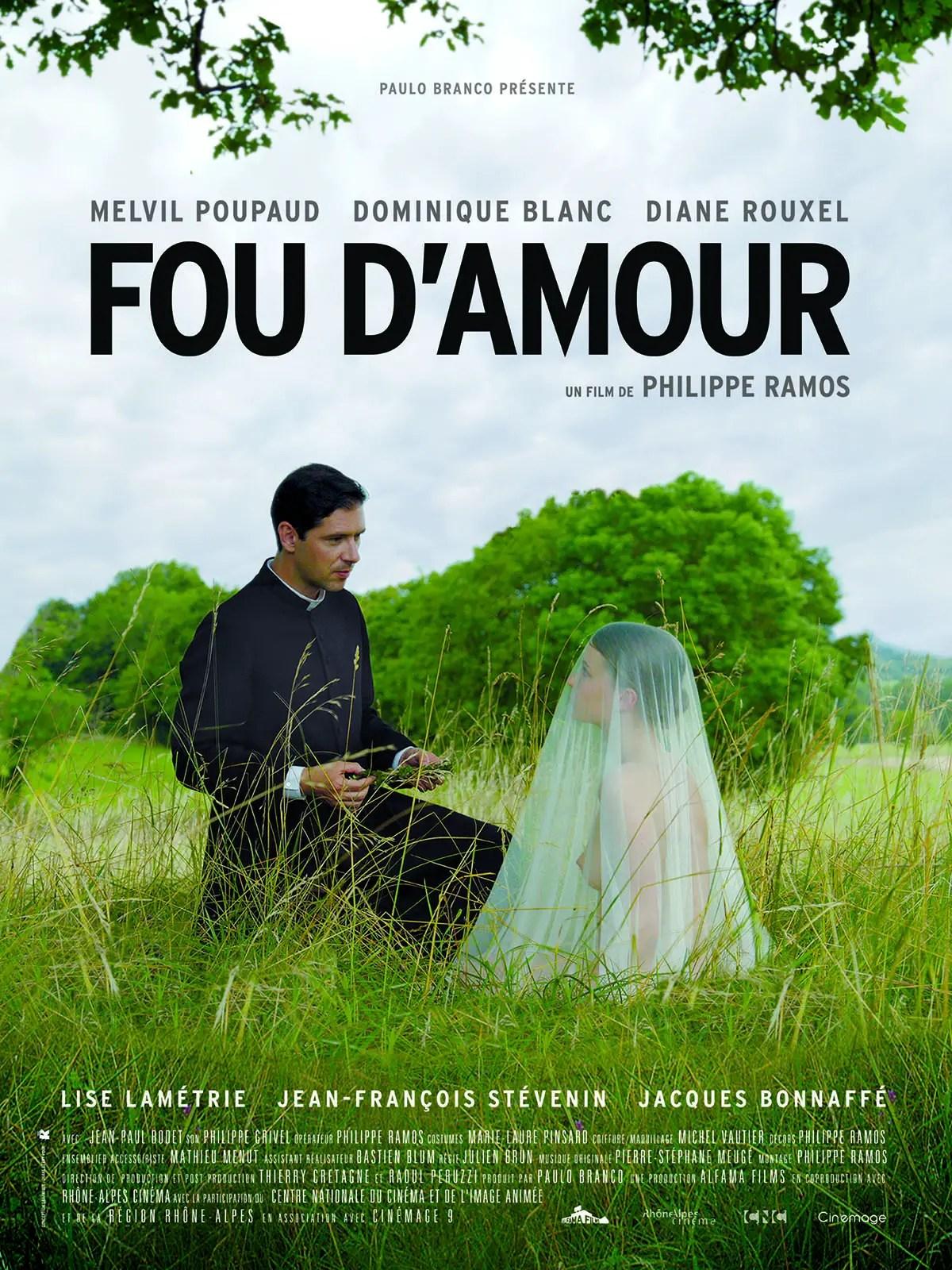 Affiche du film FOU D'AMOUR