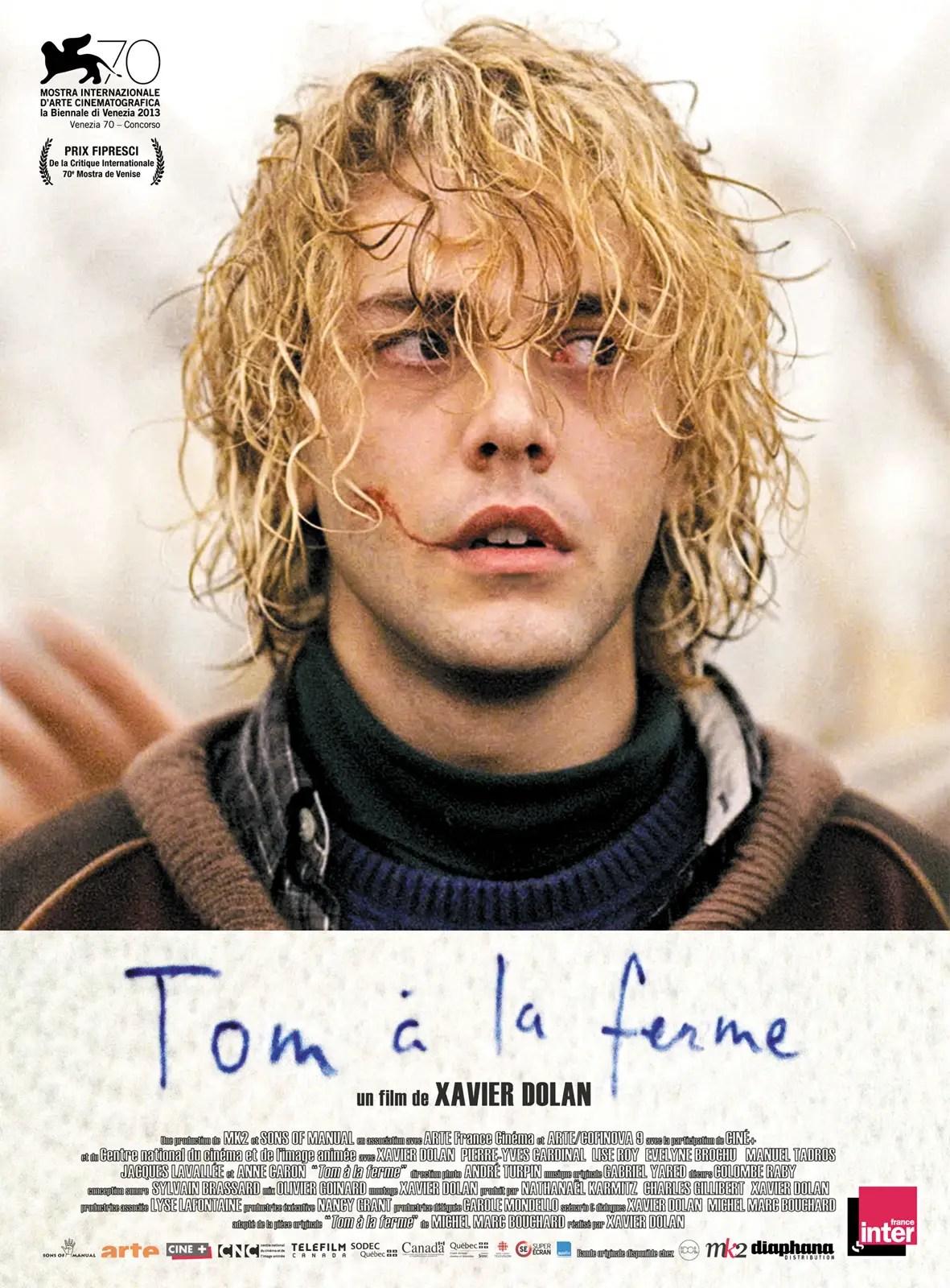 tom a la ferme affiche