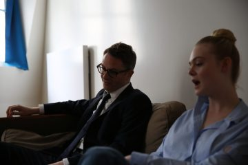 Nicolas Winding Refn et Elle Fanning