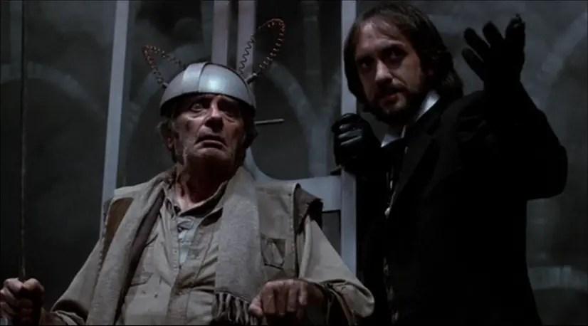 Les mystérieux Tom Fury et Mister Dark dans La Foire des Ténèbres (Jack Clayton, 1983)