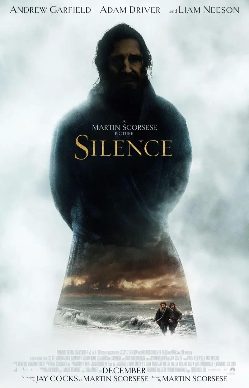 Affiche VO du film SILENCE