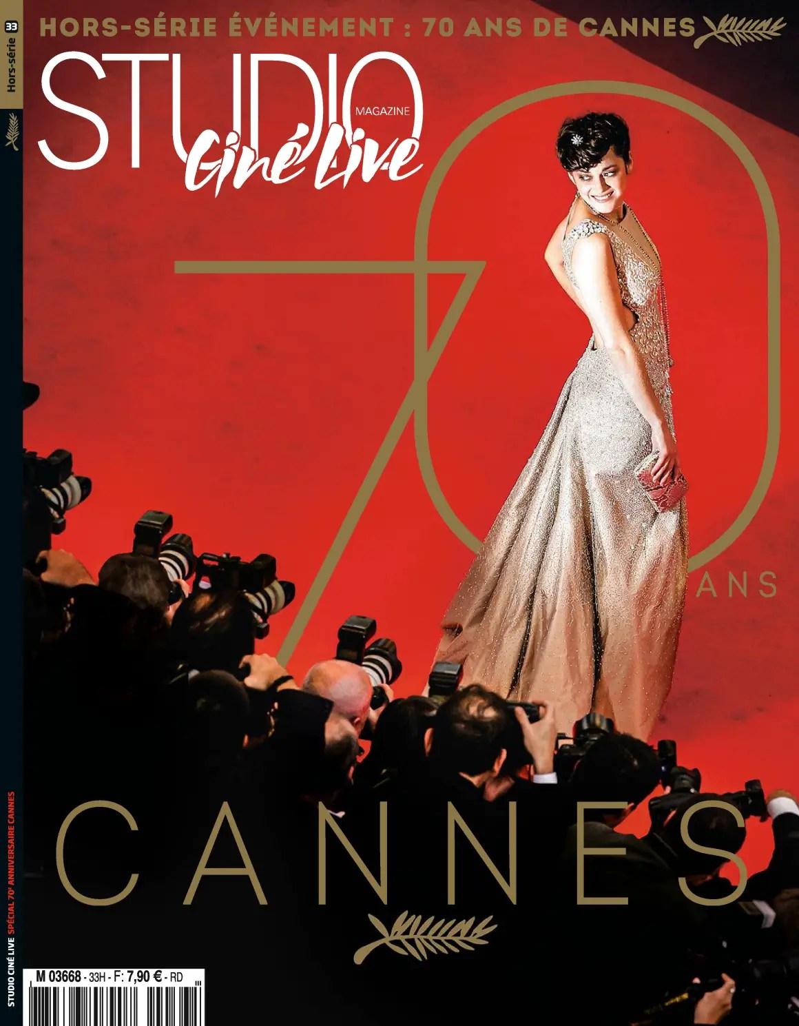 Couverture HS Festival de Cannes 2017 STudio Ciné Live