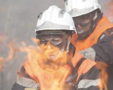 Photo : Les hommes du feu