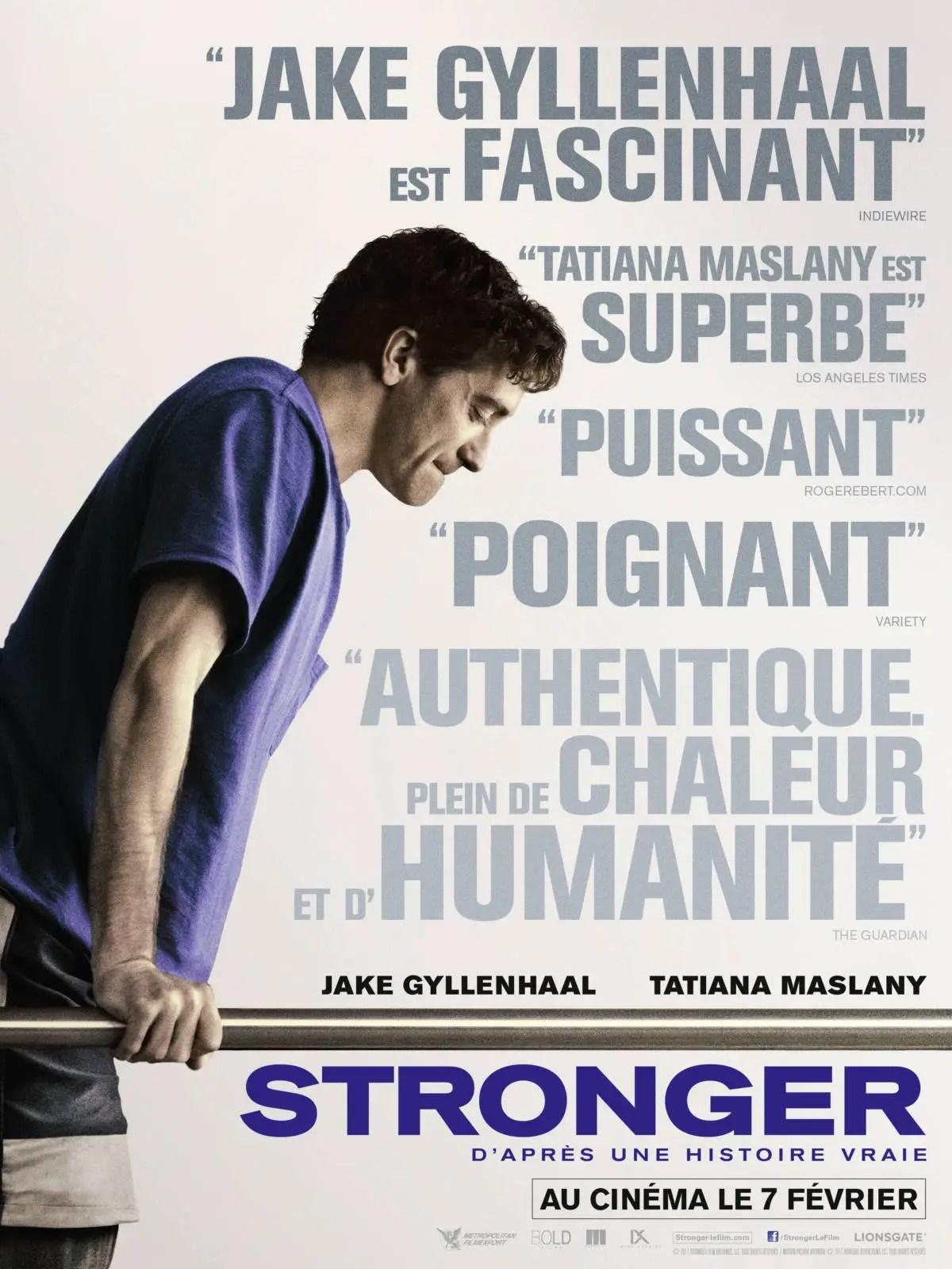 Affiche du film STRONGER