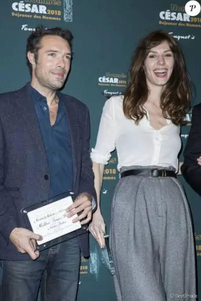 """Nicolas Bedos nommé dans la catégorie Meilleur Premier Film pour """"Mr et Mme Adelman"""" et Doria Tillier pour le César de la Meilleur actrice."""