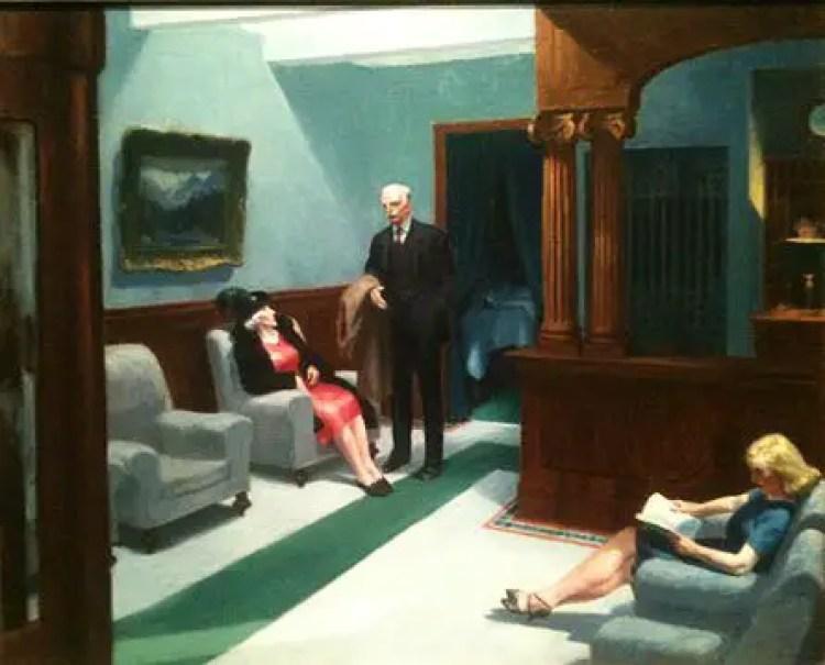 tableaux d 39 edward hopper. Black Bedroom Furniture Sets. Home Design Ideas