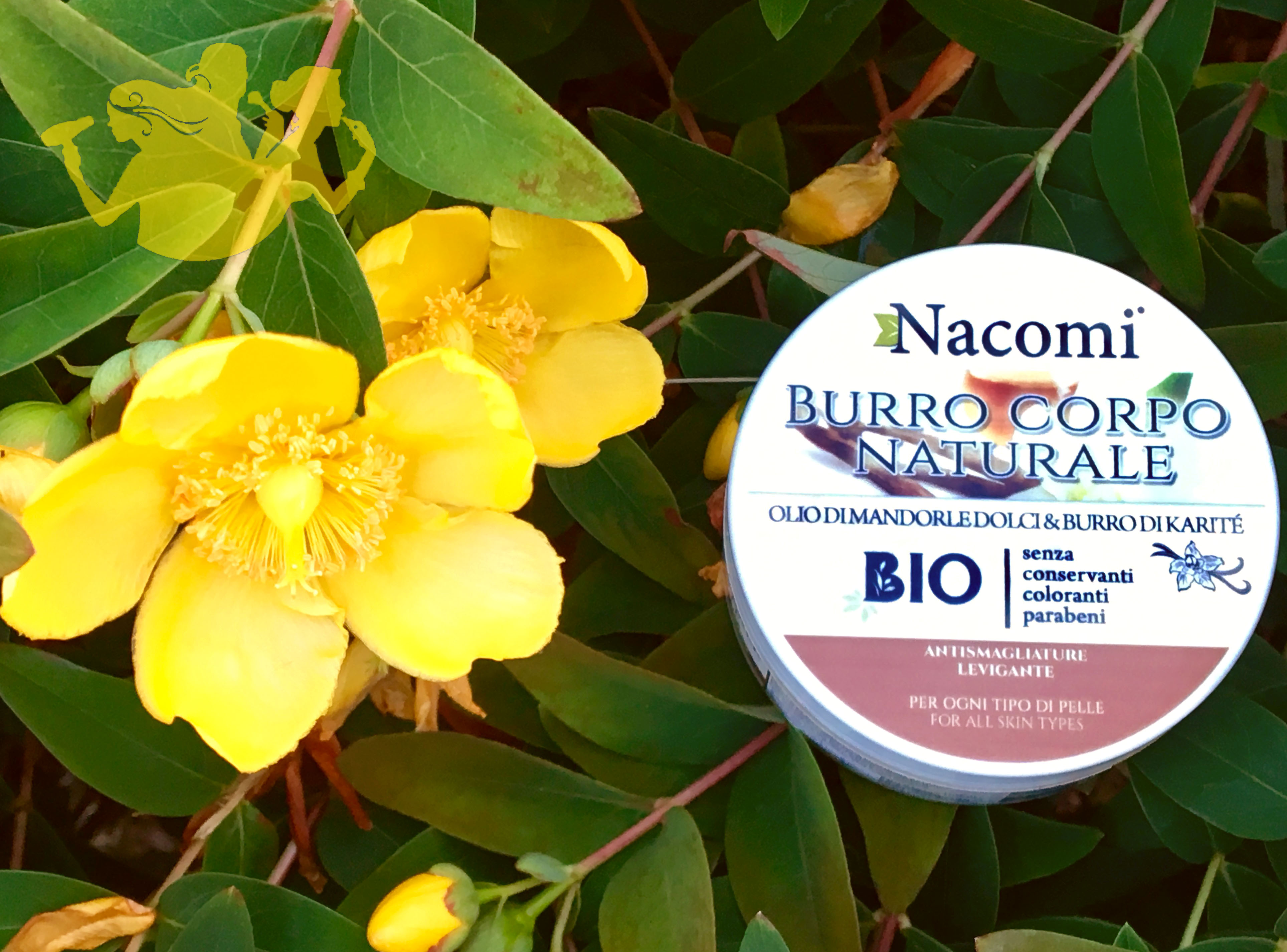 Burro corpo naturale, Nacomi