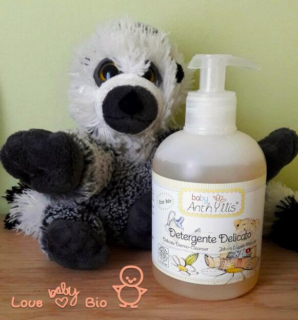 Love Baby Bio: detergente delicato Baby, Anthyllis