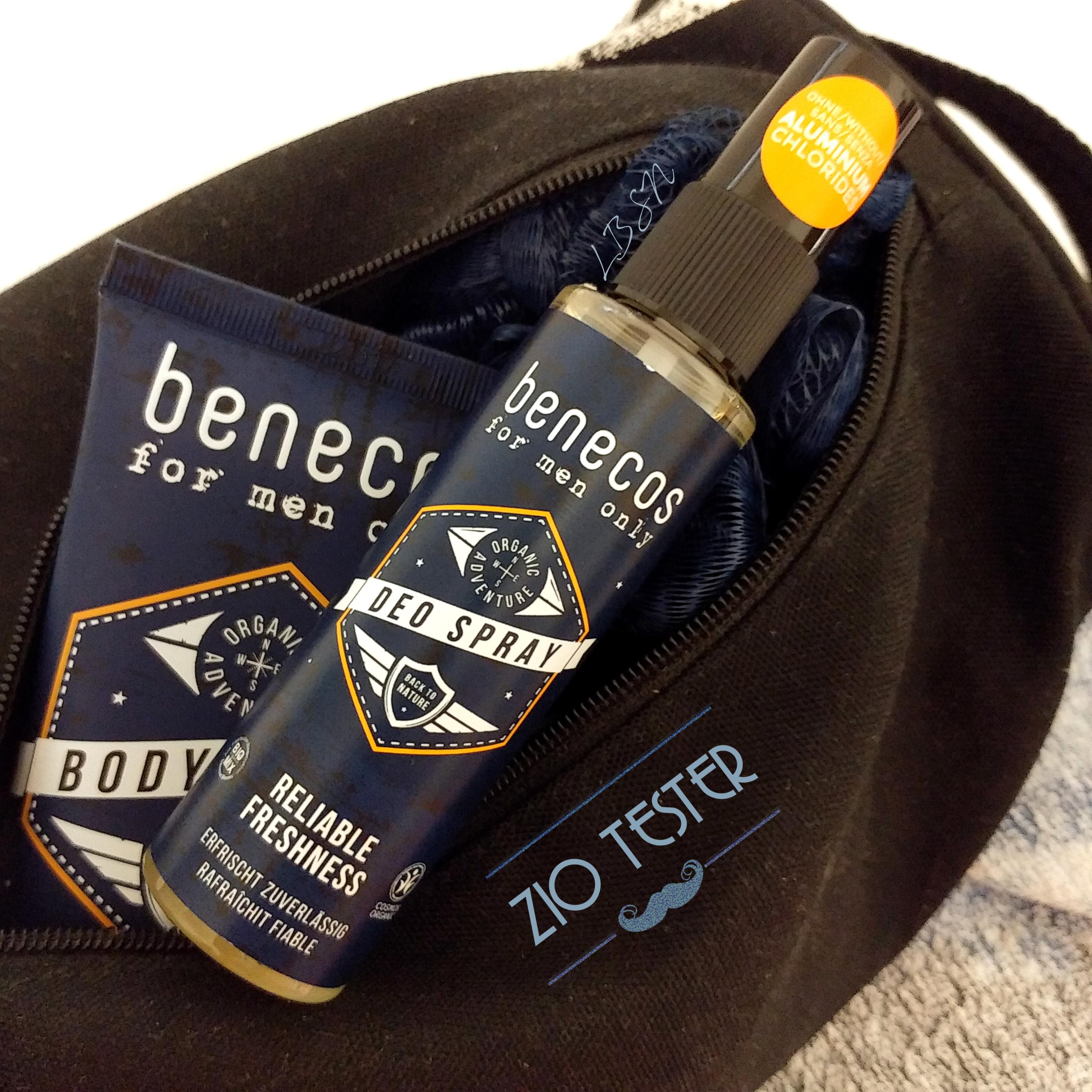 For men only Deo spray – Benecos [Zio Tester]