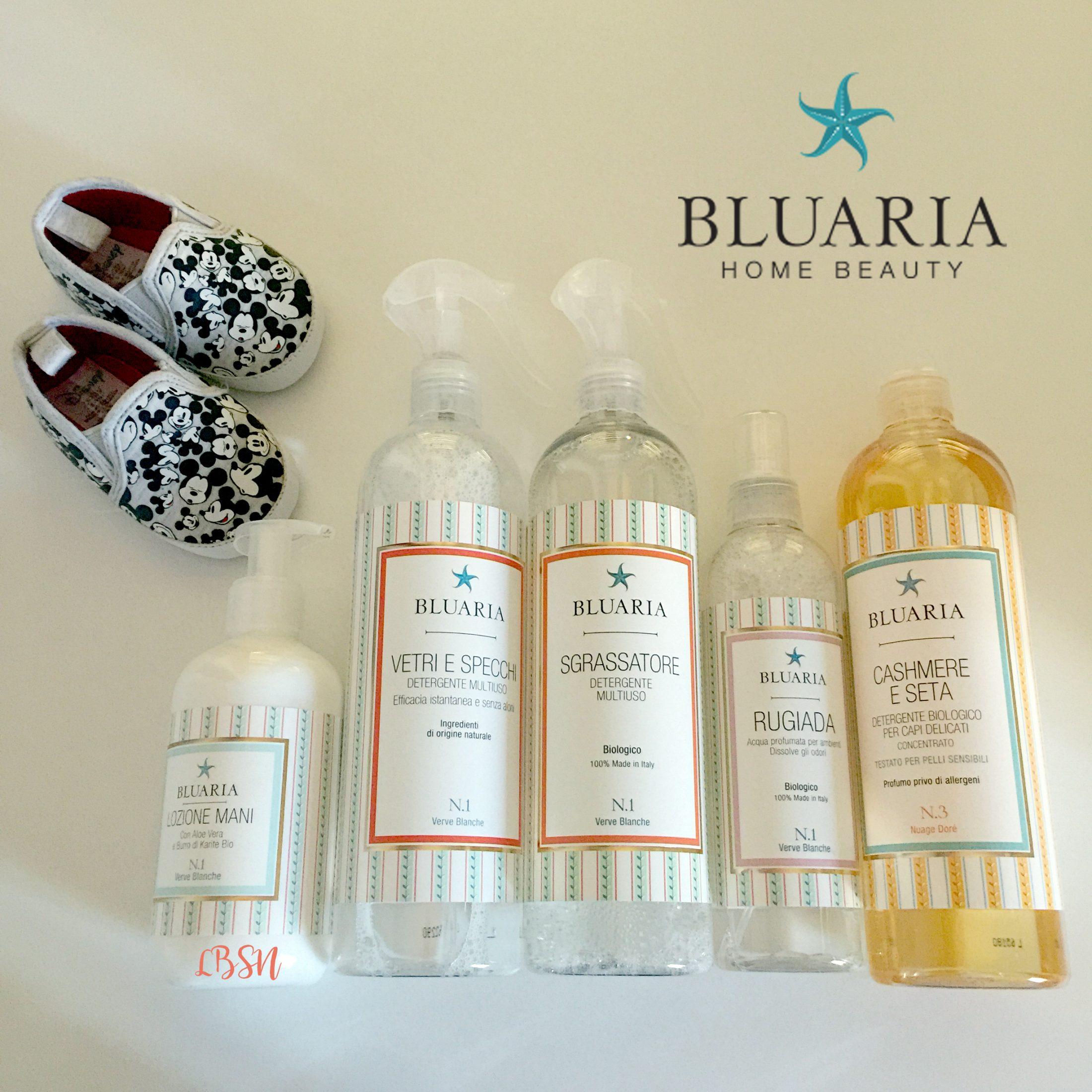 5 prodotti homecare – Bluaria