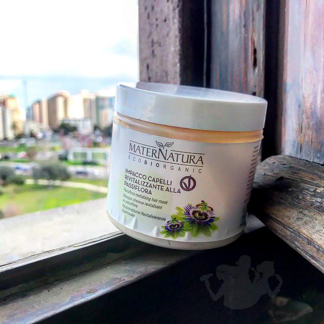 Impacco capelli rivitalizzante alla passiflora – Maternatura