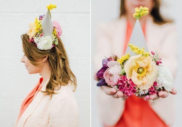 DIY-floral-party-hats-7