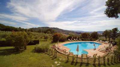 Villa con piscina in toscana,villa Le Bolli Radicondoli Siena