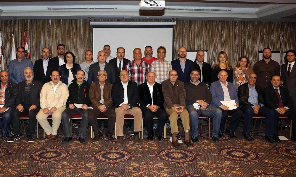 في لقاء مع ممثلي الإتحادات الرياضية – الأولمبية اللبنانية عرضت لبرامج التضامن الأولمبي 2017 -2020 وآليات الحصول على المساعدات المالية والخبراتيّة