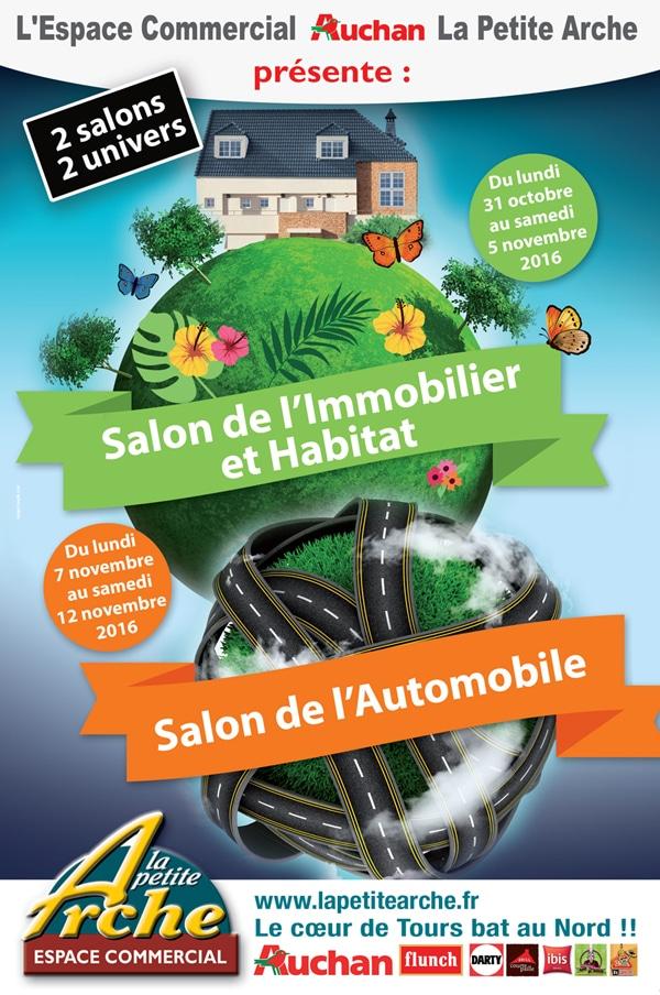 Salon de lImmobilier Auchan La Petite Arche Tours Nord
