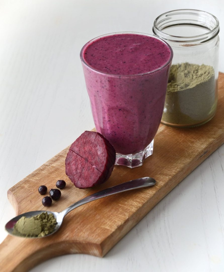 Smoothie Betterave, Fruits & Chanvre