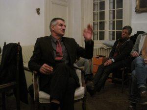 Jean Lassale le 17 novembre 2016 à Lamaronde chez Jean-Marie Desachy.