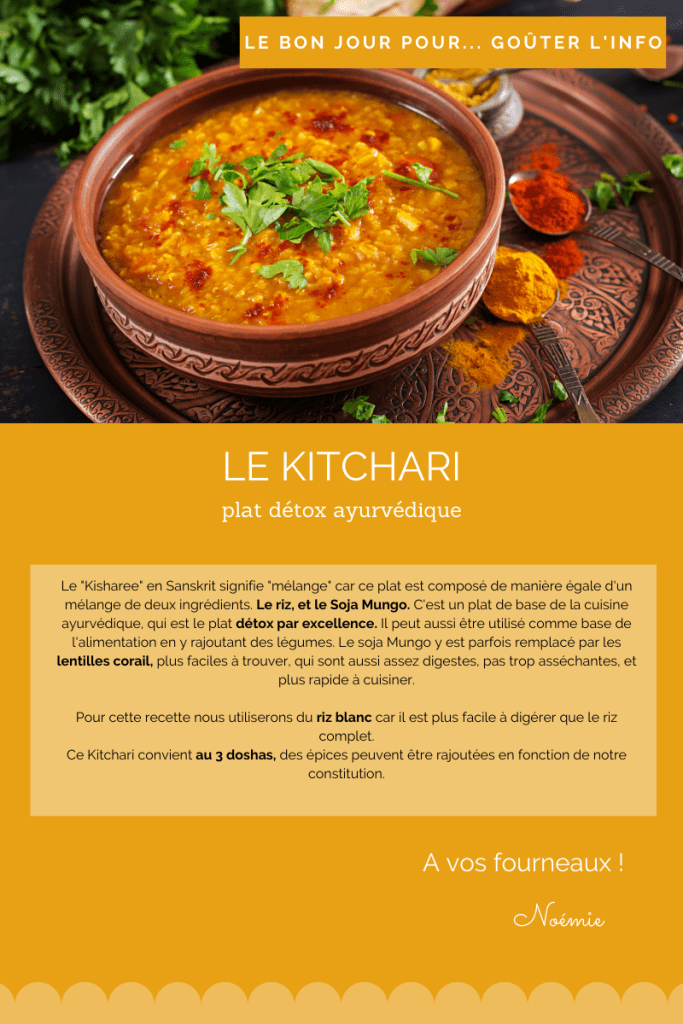 Kitchari recette