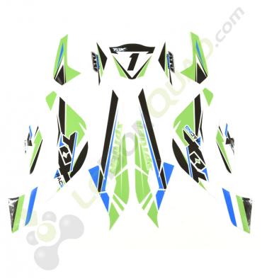 tox de couleur vert pour quad enfant 50cc
