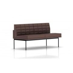 Herman Miller Tuxedo Sofa Armless 2 Seater Uk Canape Cuir Places Sans Accoudoirs