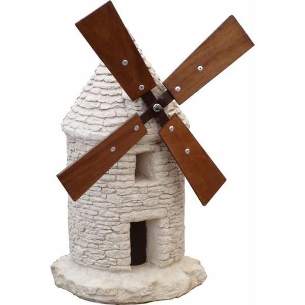 decoration de jardin grand moulin en