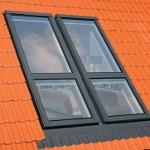Une fois la fenêtre fermée, les balustrades latérales se cachent sous la tôlerie