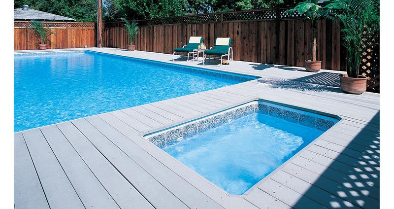 Les terrasses en bois composite le bricomag for Planche de terrasse composite