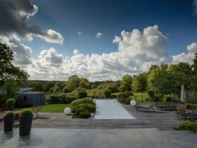 aménagement d'un jardin original