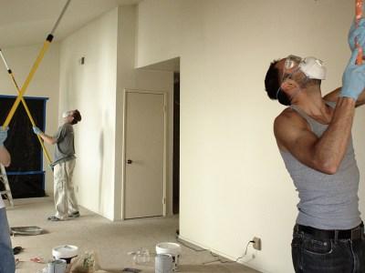 Peindre le plafond