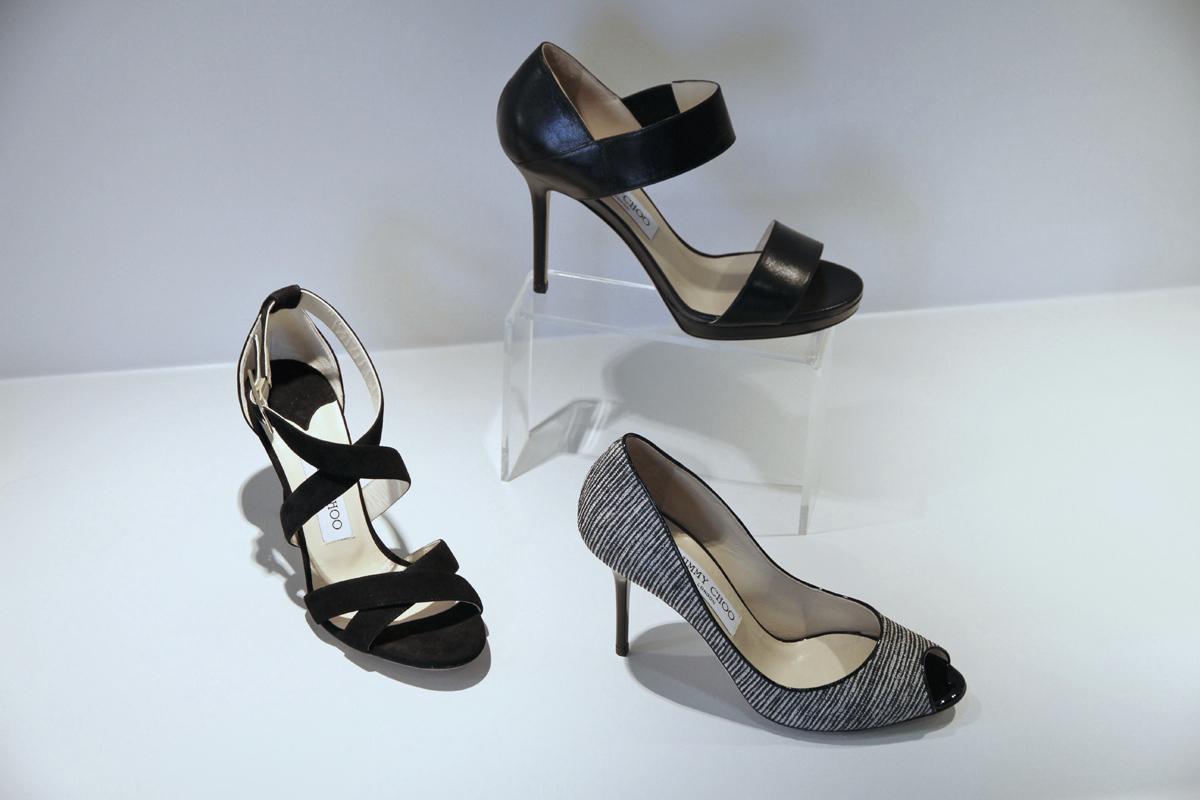 c24cca68993ab Focus sur les modèles d escarpins et sandales Jimmy Choo du printemps-été  2015. Retrouvez ces petits bijoux dans la boutique La Suite à Rouen.