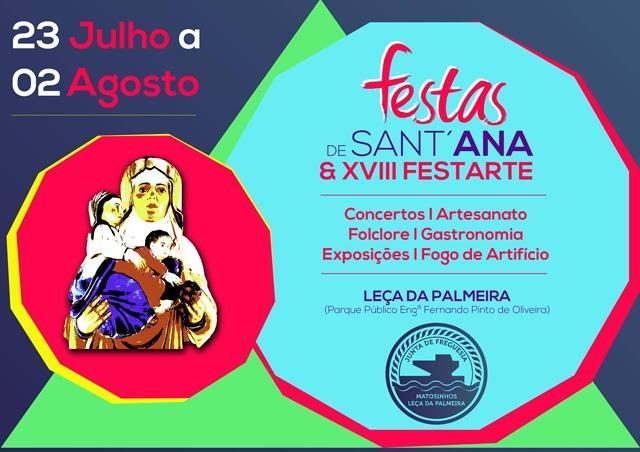 Festas Santana Leça Palmeira