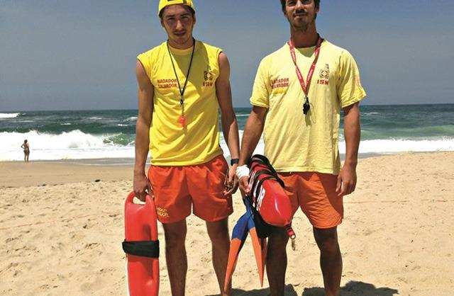 Miguel Ramalho salva jovem de afogamento