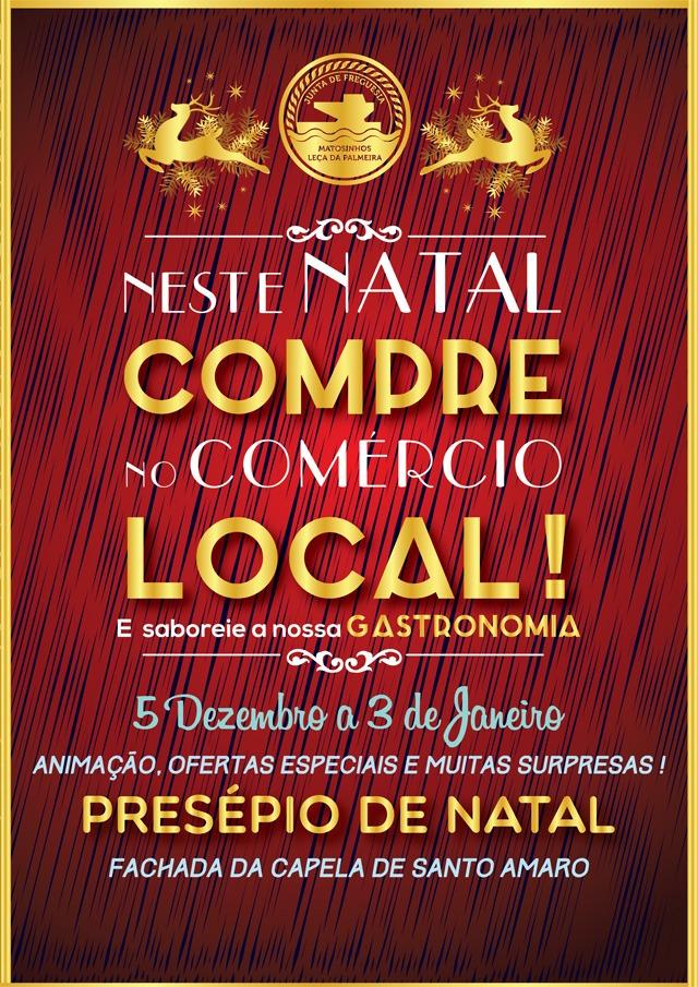 Natal e Comércio Local - Leça e Matosinhos